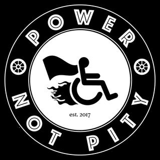 power not pity logo